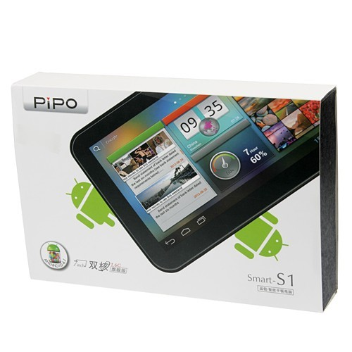 PIPO S1 Dual Core RK3066 Tablet PC Android 4 1 7 Inch 8G Black