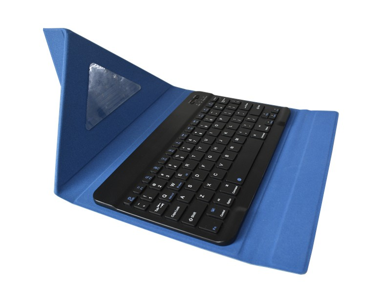 10.6 inch Keyboard Leather Case for 10.6 inch PIPO Tablet PC Blue
