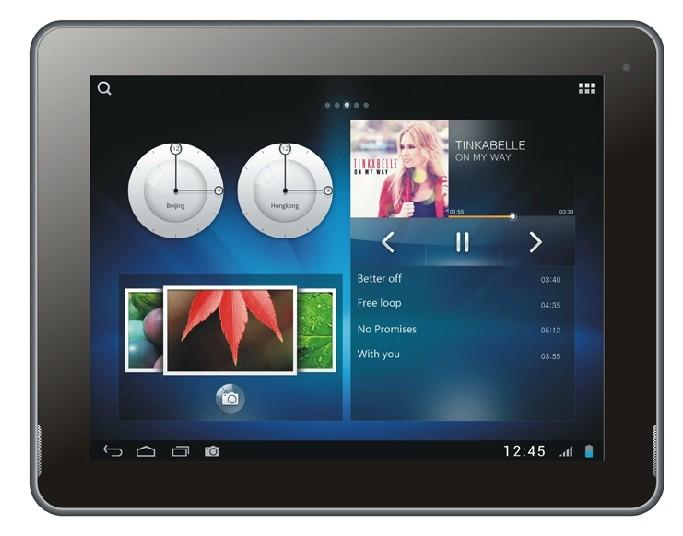 PiPo M6 Quad Core RK3188 Tablet PC Android 4.2 9.7 Inch Retina 2G RAM Bluetooth Black