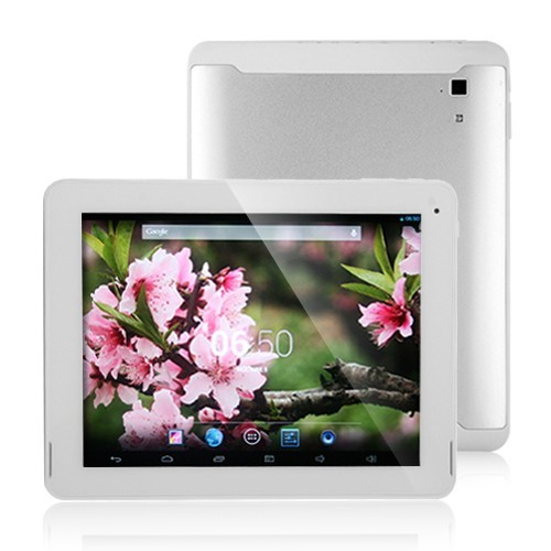 PiPo M6 RK3188 Quad Core Tablet PC 9.7 Inch Retina Android 4.2 Bluetooth 2G RAM Silver