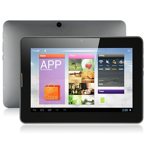 PIPO U1Pro Dual Core RK3066 Tablet PC Android 4.1 7 Inch IPS 16GB Gray