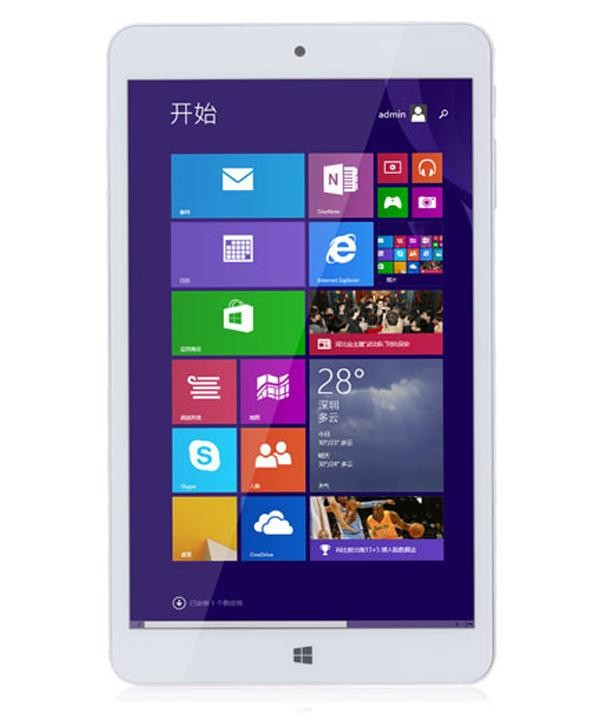 PIPO W4 Tablet PC Windows 8.1 Quad Core 8 Inch 1280x800 IPS Bluetooth HDMI OTG 1GB 16GB White