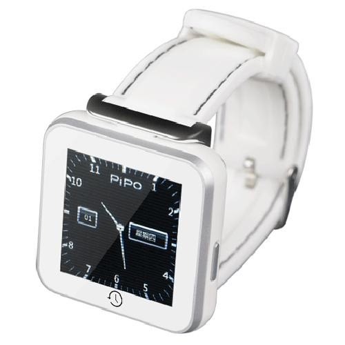 PiPo C2 1.5 Inch Smart Watch for Android / iOS Phone Tablet White