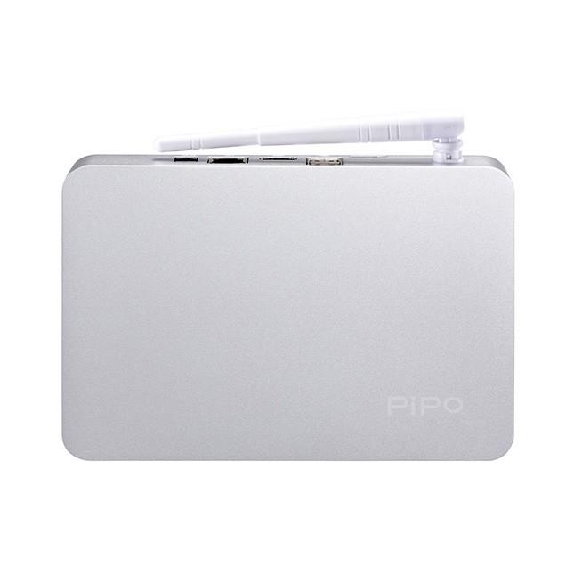 PiPo X7 TV Box Windows 8.1 Mini PC 64 Bit Intel Z3736F 32GB ROM Silver