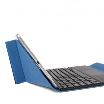 10.6 inch PIPO Tablet PC Touch Screen Keyboard Leather Case Blue