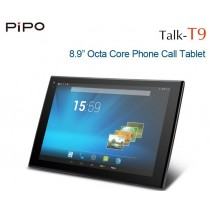 PiPo T9S Talk-T9 MTK6592 Octa Core 8.9 inch Retina Android 3G Phone Call Tablets GPS Bluetooth 2GB 32GB
