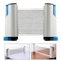 Retractable Table Tennis Net Anywhere Table Tennis Net Professional Portable Ping Pong Net for Any Table Ping Pong Table Net Set for Indoor and Outdoor