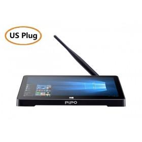PiPO X12 Mini PC 10.8 Inch TV Box 4GB 64GB Windows 10 Intel Z8350 10000mAh rs-232 HDMI + Stylus Pen - US Plug