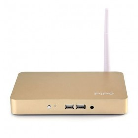 PiPo X7S Dual Boot Mini PC 64 Bit Intel Z3736F 64GB ROM Win10 Android 4.4 TV Box Gold