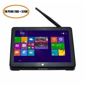 PiPo X8S Dual Boot Mini PC 7 Inch Touch Screen Intel Z3735 Win10 & Android 4.4 2GB 32GB - EU Plug