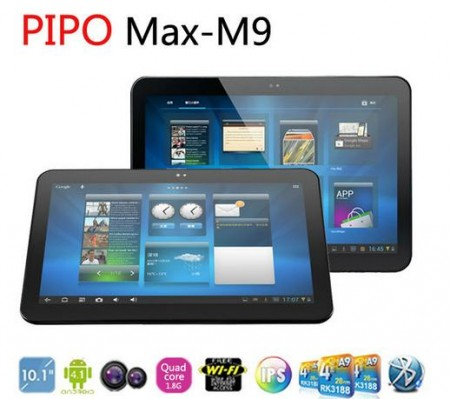 PiPo M9 Quad Core Tablet PC 10.1 inch IPS RAM 2GB PiPo Max M9