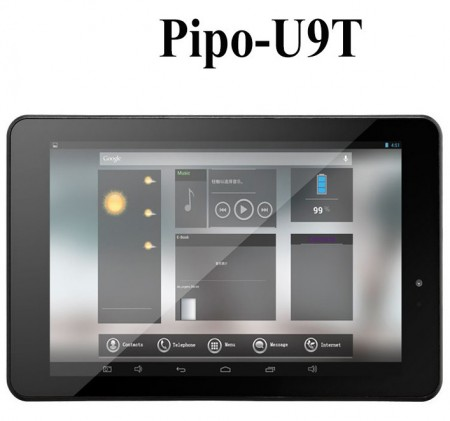 Pipo U9T 3G Tablet PC 3G Phone Call Quad Core 7.0 Inch 1920*1200 GPS Bluetooth HDMI 2GB 16GB