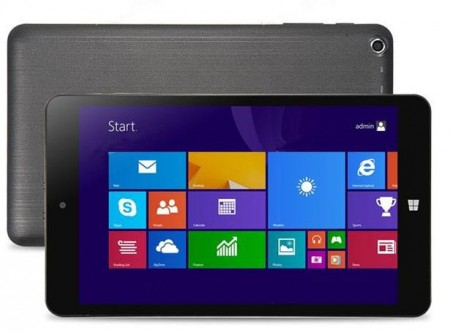 PIPO W4 Windows 8.1 Tablet PC Quad Core 8 Inch 1280x800 IPS HDMI OTG Bluetooth WIFI 1GB 16GB Black