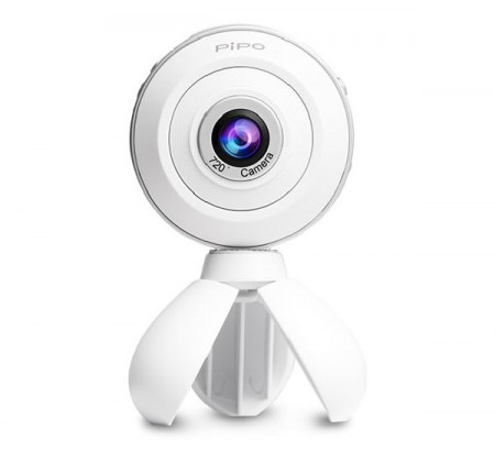 PIPO V3 720 degree Panorama Camera VR Camera 2048 x 1024 WiFi 800mAh White