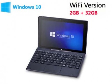 PIPO W1S Windows 10 2GB 32GB Atom X5 Tablet PC 10.1 inch FHD Screen HDMI WiFi Black