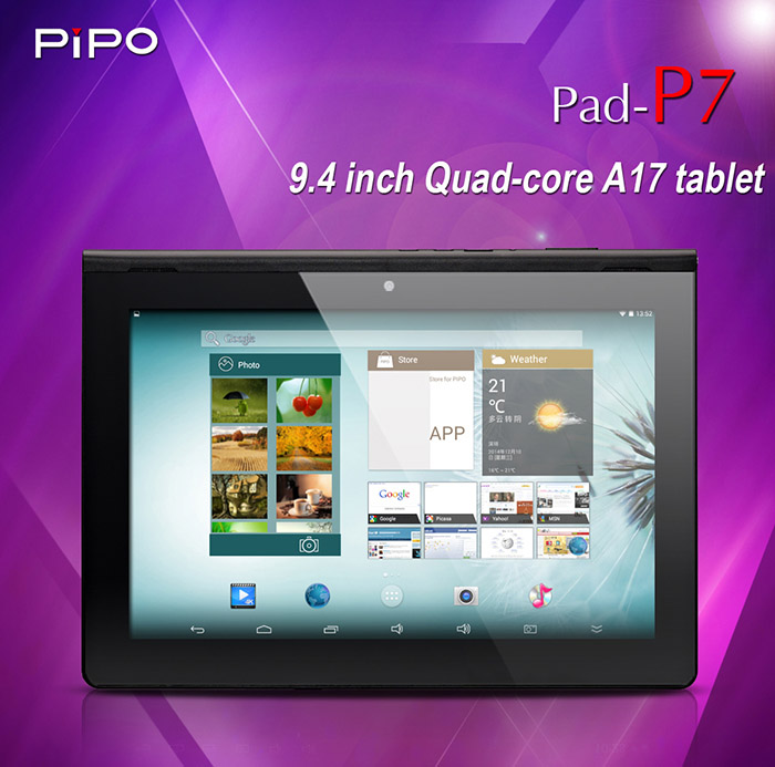 the pipo p7 quad core rk3288 tablet pc 9 4 inch ips android 4 4 2gb ram bluetooth
